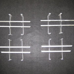 Fender grilles aluminum (Pair)