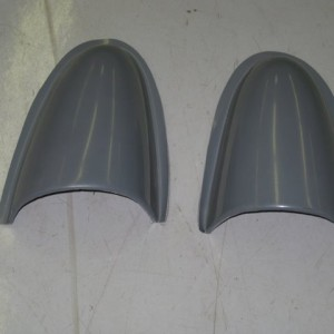 Rear Brake Duct Scoops (Pair)